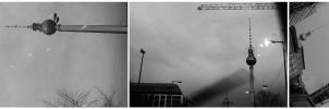 Fernsehturm ::collage:: by dr-snoggle
