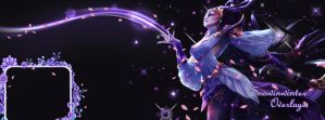 Lunar Goddess Diana FB Cover by SnOwInWiNtEr