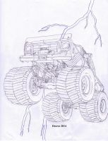 Project Monster Truck by Deorse