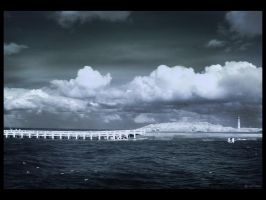 Lost Lighthouse IR by caithness155