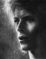 David Bowie by AnnikeAndrews