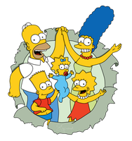 The Simpsons by Linkage92