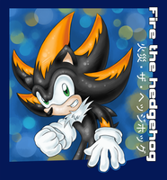 .:Fieru The Hedgehog:. by KannaTC
