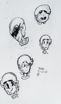 style sketches by RetroDoodleZ