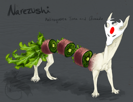 SUSHI by ChocolateFishFins
