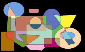 Shapes Of Colours 3 by GreenSkullplz