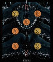 Thoth Tarot - 7 of Disks by AdamTLS