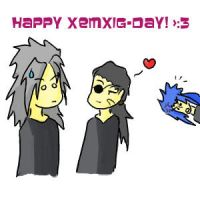 Happy XemXig-day :E by Mirey-chan