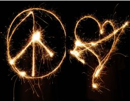 Peace and Love by JenRoyce