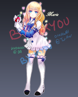 Marie - Adoptable OC - AUCTION [CLOSED] by Kyouheii