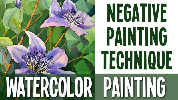 Negative painting technique by Shelter85