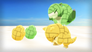 MMD PK Sandshrew DL by 2234083174