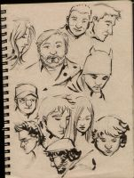 Drink and Draw Peeps.. by manapul
