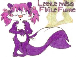 Little miss Fifi le fume by mariobros64