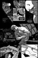 Daredevil Black and White 03 by JasonLatour