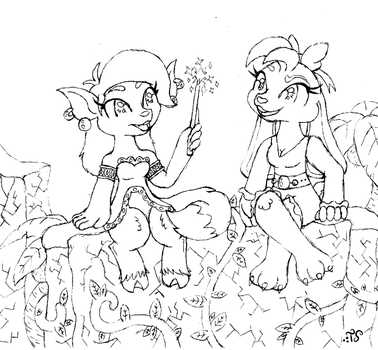 Magic Training Doodle by Toadskippers