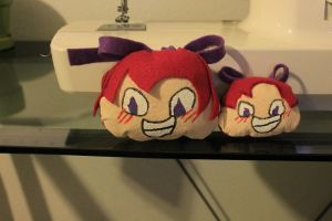 Rall Head Plushie :I by SmilehKitteh