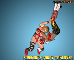 Fireman's Carry Takeover (Revisited) by IKeelYou457