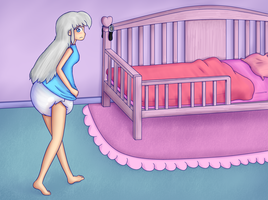 Big kid birthday bed by Hira-Dontell