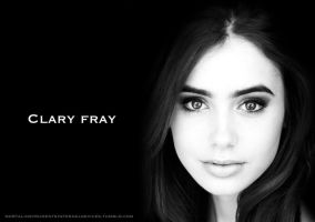 Clary Fray (Lily Collins) by mackenzieross22