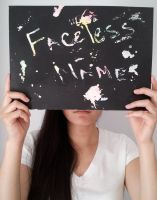 : Faceless Name : by hoozuki-chan