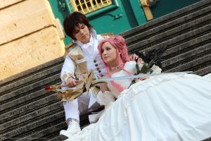 Code Geass: The Knight with his Princess by Naru-kawaii-chan