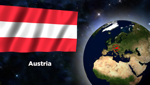 Flag Wallpaper - Austria by darellnonis
