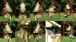 Dragon Slayer Ornstein Helm views by Banjo29