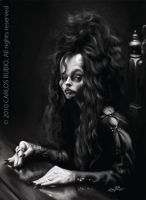 Bellatrix Lestrange by CarlosRubio