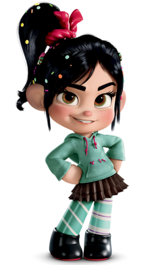 Vanellope profile by sylwia1098