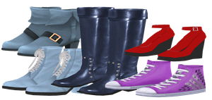Shoe Pack DOWNLOAD by Reseliee
