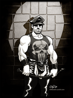 The Punisher of Finland by AllMaleArt