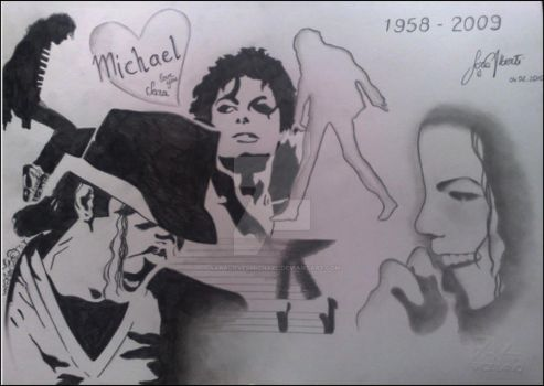Tribute to the King MJ by SaralovesMichael