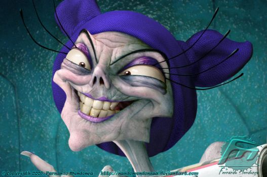 Yzma Real by nandomendonssa