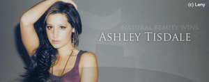 Ashley Tisdale banner by Lenny-art
