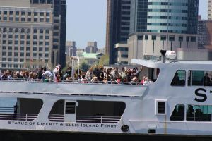 Ferry of Tourists by TheBuggynater