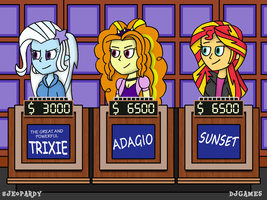 Equestria on Jeopardy (Request) by DJgames
