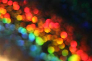 Rainbow-Bokeh Stock I by MidnightCraze