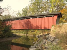 Everett Road Covered Bridge by Granny-Chobit
