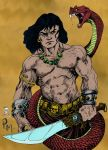 Conan vs the Serpent by CDL113