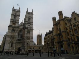 Westminster Abbey and the Sanctuary by rlkitterman