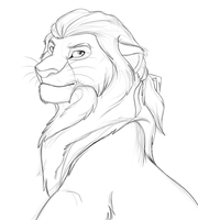 Haytham_lion (WIP) by Mganga-The-Lion