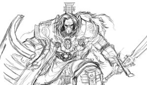 Inquisitor Hector Rex sketch by Bradwhitlam