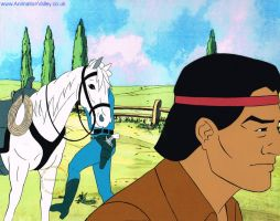 The Lone Ranger Production Cel by AnimationValley