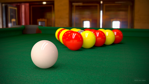 UK Pool Table by TheBigDaveC