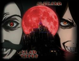 ALUCARD - VLAD TEPES II by FALLEN-ANGEL-F