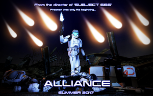 Alliance Movie Poster by benoski