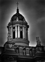 Cathedral BW by NoreeCorrino