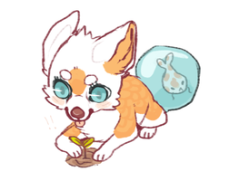 Tiny Plant Redraw by Magicpawed