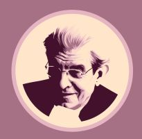 Jacques Lacan by monsteroftheid